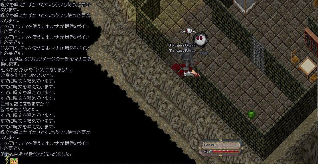 E型格闘ガーゴイル討伐記録07:オーガコック