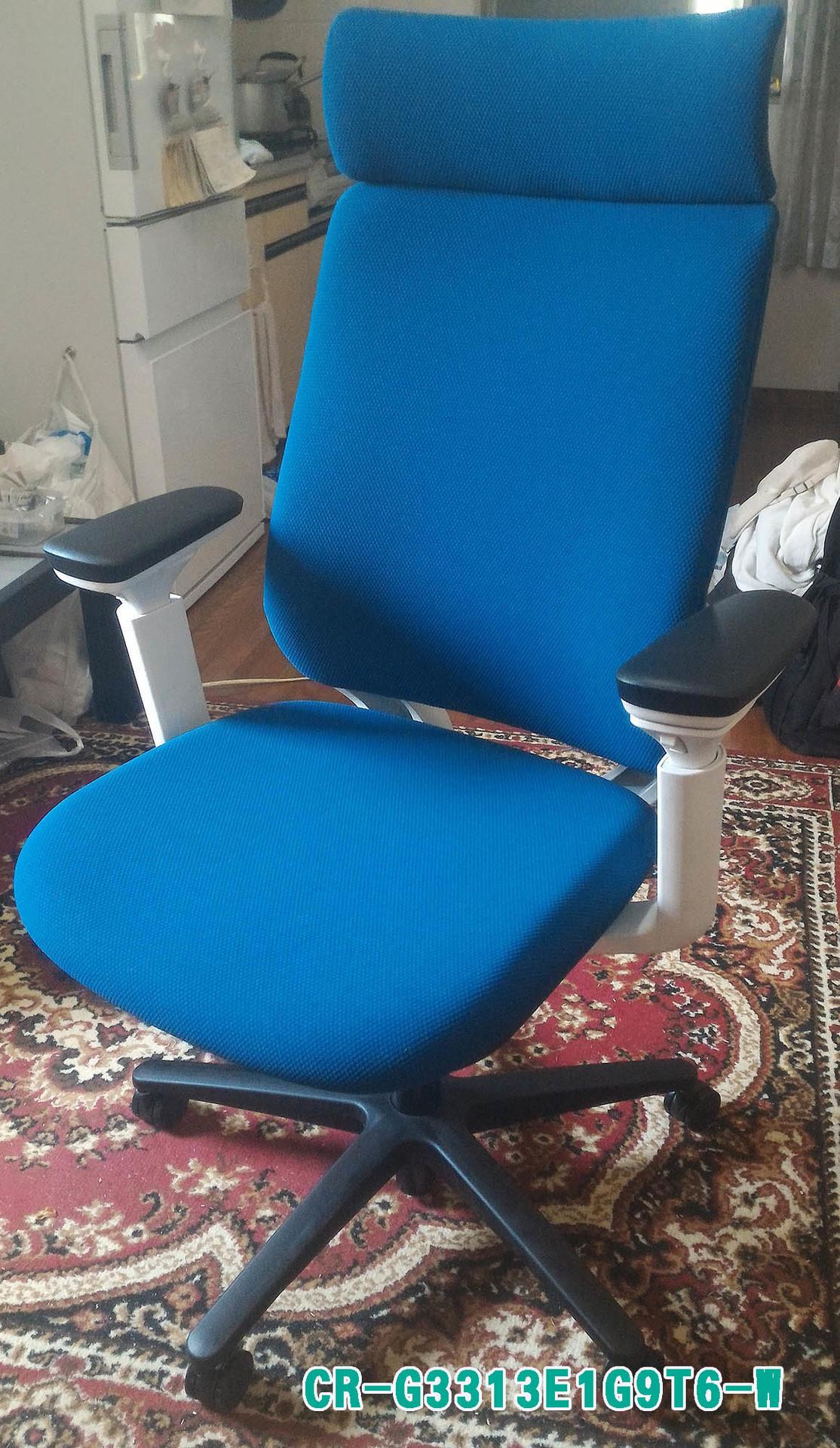 D型のPC作業用椅子をKOKUYOのMITRAシリーズに換装しました!