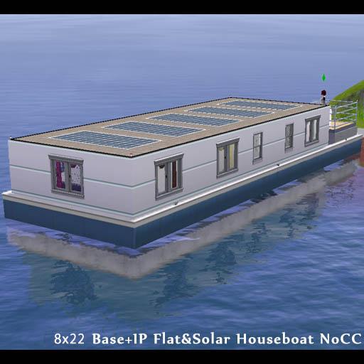 オール電化ソーラーハウスボート