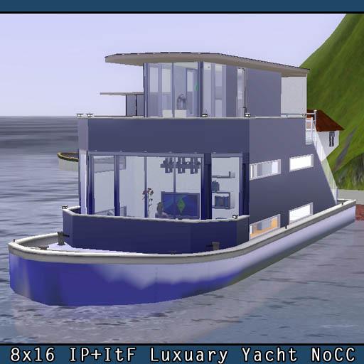 ヨットタイプハウスボートLot